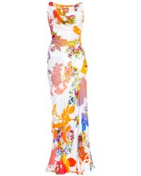 Vivienne Westwood Gold Label Amber Floral-Print Gown floral - Lyst