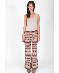 Goddis Dallas Knit Pant - Lyst