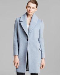 Elie Tahari Sicily Single-Button Coat - Lyst