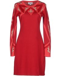 Alice By Temperley Short Dress red - Lyst