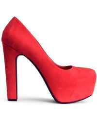 H&M Platform Court Shoes - Lyst