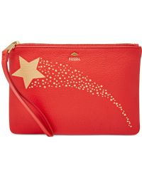 Fossil | Gifting Printed Leather Wristlet | Lyst
