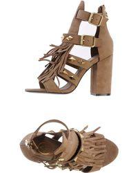 Ash Khaki Sandals - Lyst