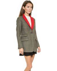 Rag & Bone Paloma Blazer  Brown - Lyst