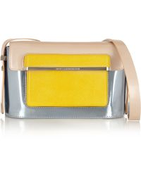 Mary Katrantzou - Color-block Leather Shoulder Bag - Lyst