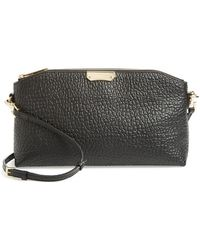 Burberry 'Small Chichester' Leather Clutch - Lyst