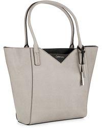 Calvin Klein Winged Tote Bag - Lyst
