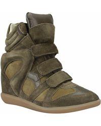 Isabel Marant Sneakers Bekett Suede - Lyst