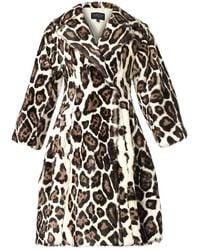 Giambattista Valli Leopardprint Fur Coat - Lyst