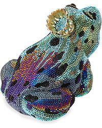 Judith Leiber Couture Crystal New Frog Prince Minaudiere - Lyst
