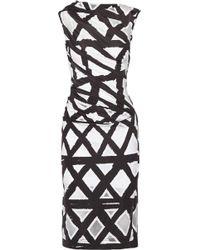 Vivienne Westwood Anglomania Taxa Devoré-Jersey Dress - Lyst