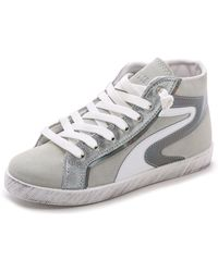 Studio Pollini - High Top Sneakers - White - Lyst