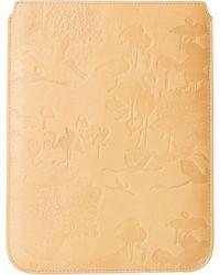 Scotch & Soda Leather Flamingo Tablet Case - Lyst