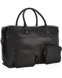 Pierre Balmain Leather Holdall Bag - Lyst