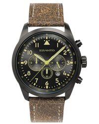 Szanto - Leather Strap Watch - Lyst