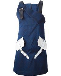 Jamie Wei Huang - Buckle-Detail Jacquard Dress - Lyst