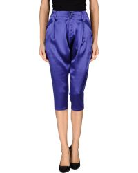 Y-3 3/4-Length Trousers - Lyst