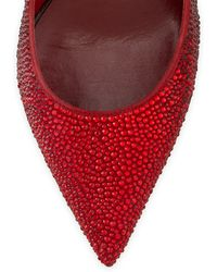 Valentino Rouge Absolute Sig 100 Diamantã© Pump - Lyst