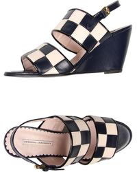 Opening Ceremony Blue Sandals - Lyst