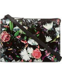 McQ by Alexander McQueen Floral Across Body Bag - Lyst