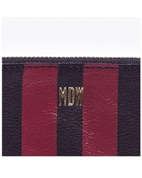 Madewell The Pouch Wallet in Paintstripe - Lyst