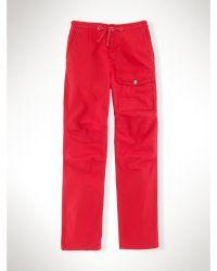 Ralph Lauren Cotton Observer Cargo Pant - Lyst