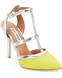 Steve Madden Surfice Leather Pumps - Lyst