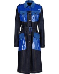Burberry Prorsum Denim Outerwear blue - Lyst
