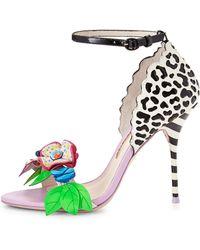 Sophia Webster Lilico Floral Jungle Sandal - Lyst