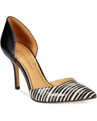 Enzo Angiolini Caelina Two-Piece Pumps - Lyst