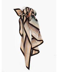 Paul Smith Men'S Triangle Silk Scarf - Lyst