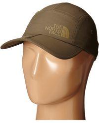 The North Face Horizon Folding Bill Cap brown - Lyst