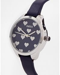 Oasis - Heart Face Watch - Lyst