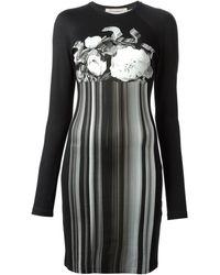 Christopher Kane Holographic Print Jersey Dress - Lyst