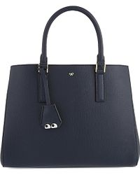 Anya Hindmarch Ebury Small Leather Tote - For Women - Lyst