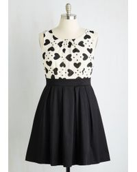 ModCloth | Chic Sweetheart Dress | Lyst