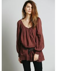 Free People Pop Stitch Swing Tunic - Lyst