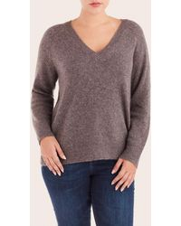 NAKEDCASHMERE - Poppy V-neck Sweater - Lyst