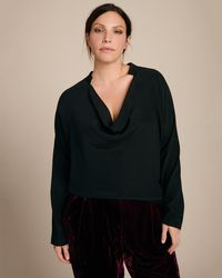 Zero + Maria Cornejo - Long Sleeve Evi Top - Lyst
