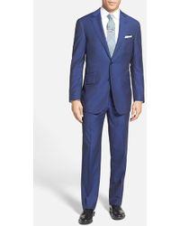 Pal Zileri Trim Fit Wool & Mohair Suit - Lyst