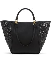 Vince Camuto Tylee Leather Tote - Lyst