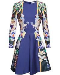 Mary Katrantzou Chrono Totem Print Dress - Lyst