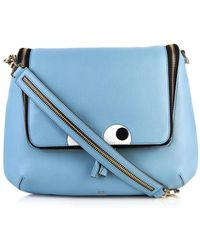 Anya Hindmarch Maxi Looking Up Leather Satchel - Lyst