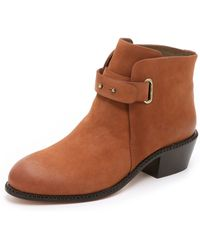 Cynthia Vincent - Humor Booties - Chocolate - Lyst