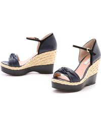 Nina Ricci | Knotted Espadrille Wedges | Lyst