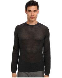 Marc Jacobs Mesh Crewneck Sweater - Lyst