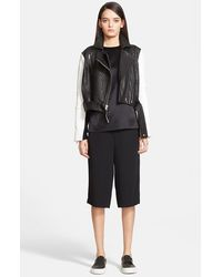 Helmut Lang 'Forge' Leather Moto Jacket - Lyst