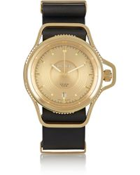 Givenchy - Seventeen Watch In Gold-plated Stainless Steel - Lyst
