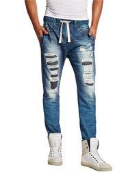 Guess Fleece Jogger Lounge Pants - Lyst