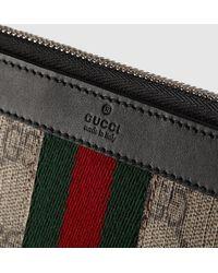 Gucci - Bright Supreme Continental Wallet - Lyst